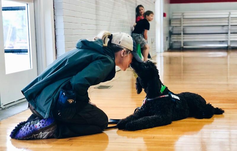 nc service dog trainer abby trogdon