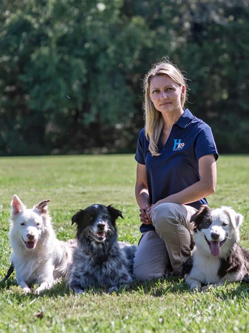 magdalena symanska instructor at school for dog trainers